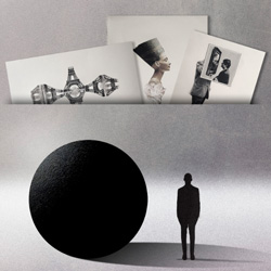 Exposición de collages