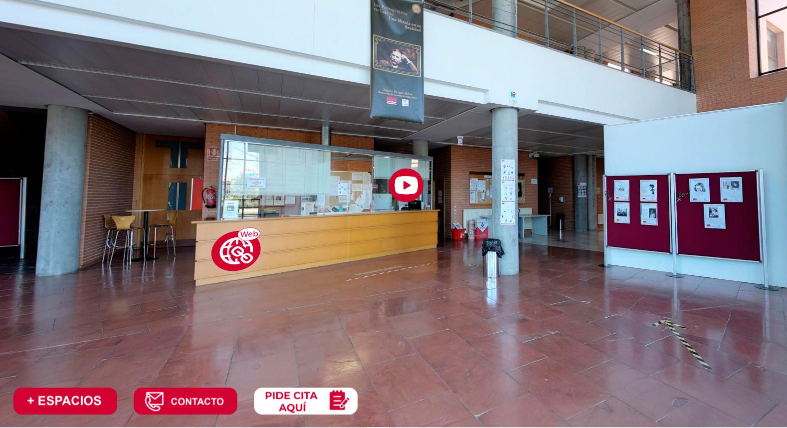 Visita virtual Facultad de Humanidades de Albacete